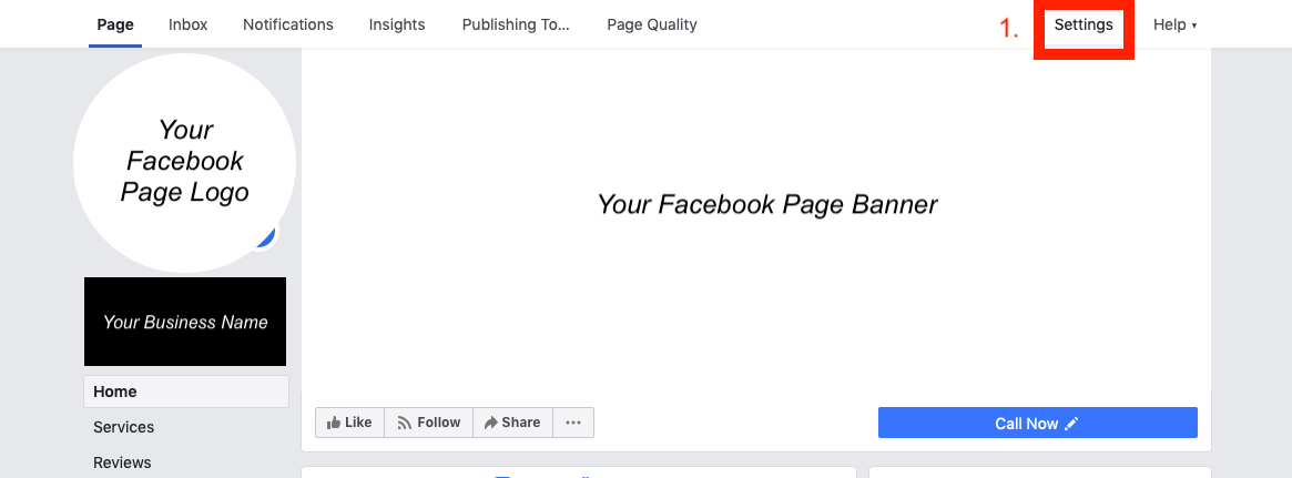 verify facebook business page